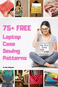 FREE Laptop Case Sewing Patterns