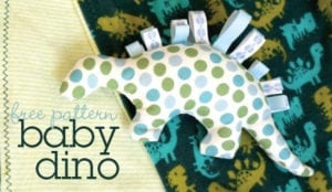 dino free sewing pattern