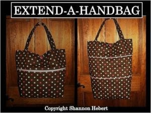 Extendable Shopping Bag FREE Sewing