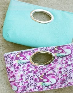 Discotech Clutch FREE Sewing Pattern