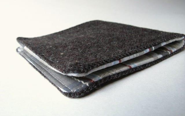 Men's Wallet free sewing