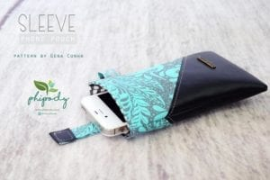Phone Pouch Free Sewing Tutorial