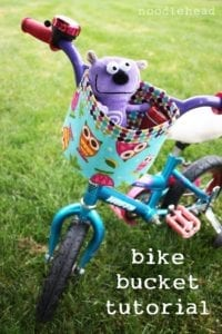 Bicycle Bucket FREE Pattern