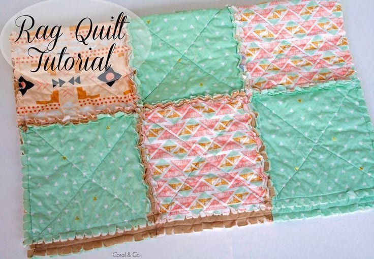 DIY Rag Quilt Tutorial