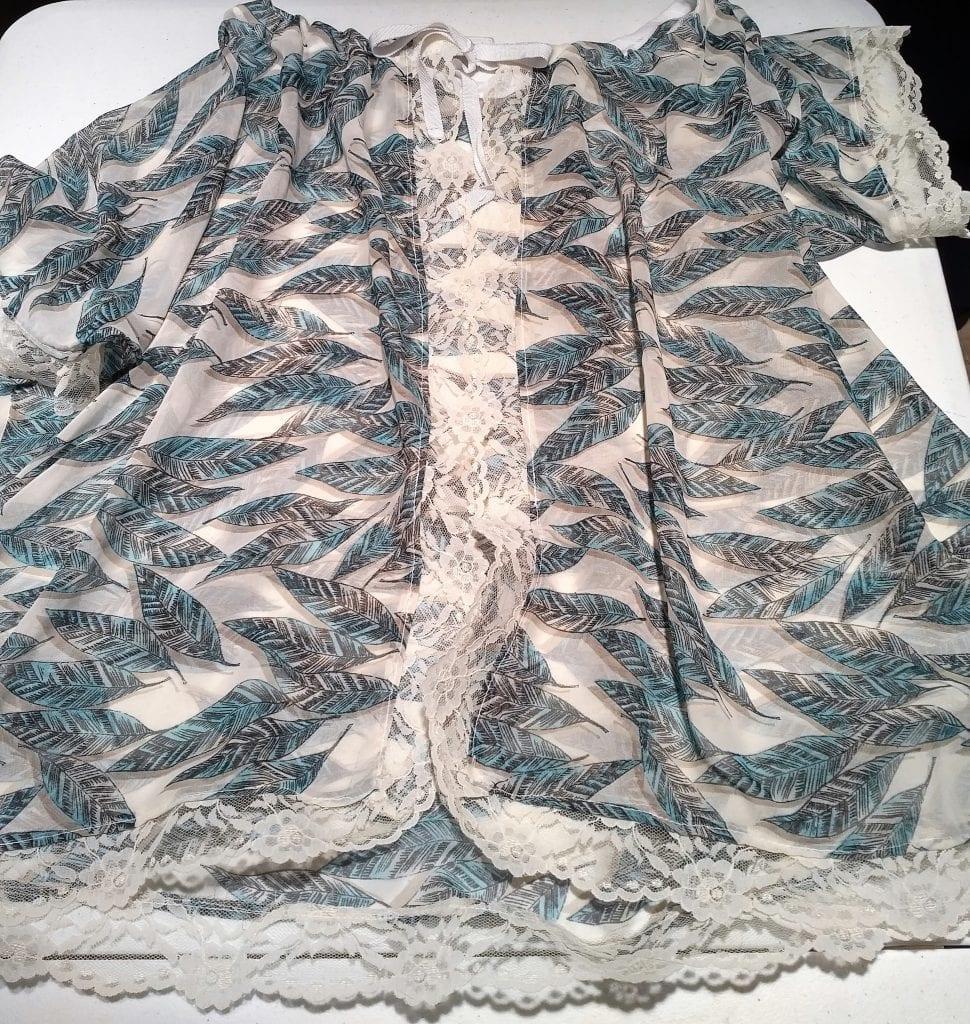 Free Delicate Vintage Top Pattern