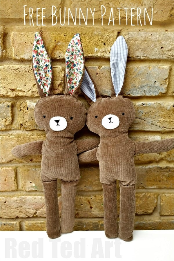 Bunny Doll FREE Sewing Pattern