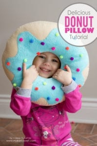 Donut Pillow Free Tutorial