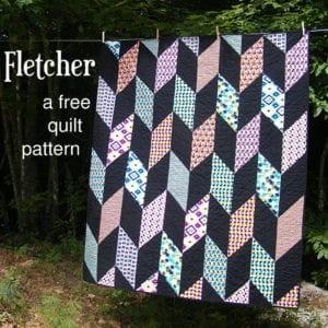 Fletcher free quilt pattern