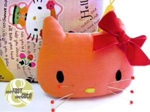 Hello Kitty Pincushion FREE Pattern