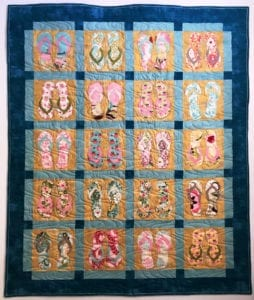 Sand Surf and Sand Free quilt pattern