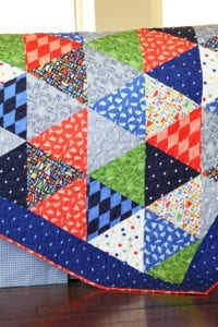 Triangle Quilt FREE Tutorial