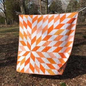 One Block Quilt FREE Tutorial
