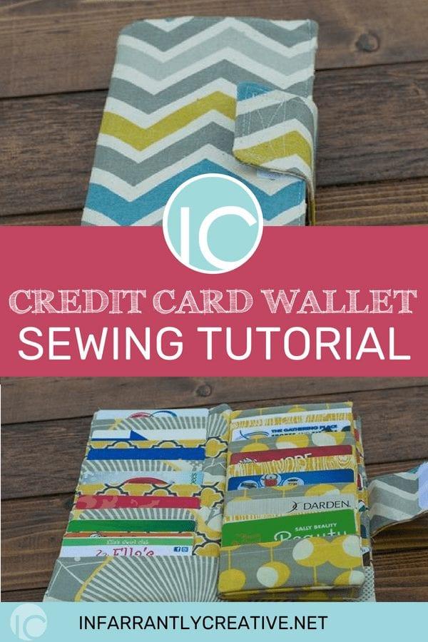 Card Holder Wallet FREE Sewing Tutorial