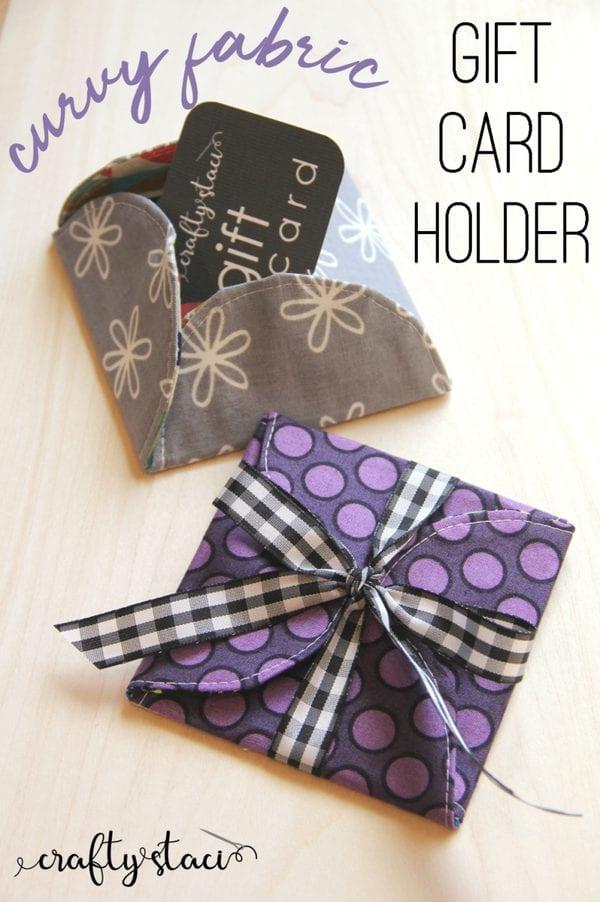 Gift Card Holder free pattern