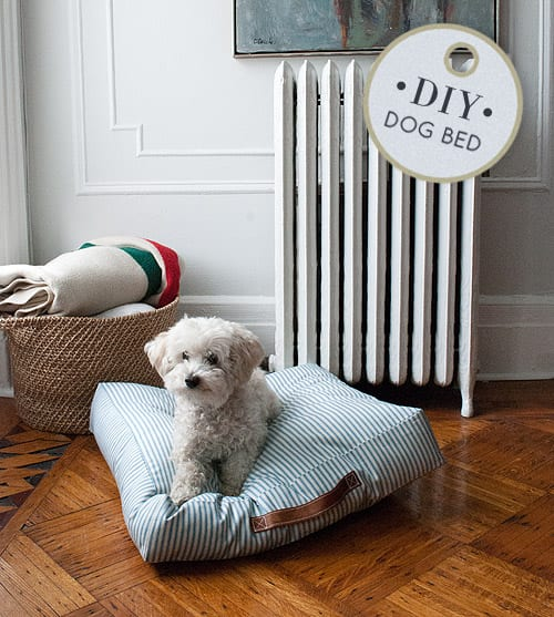 DIY Dog Bed FREE Tutorial