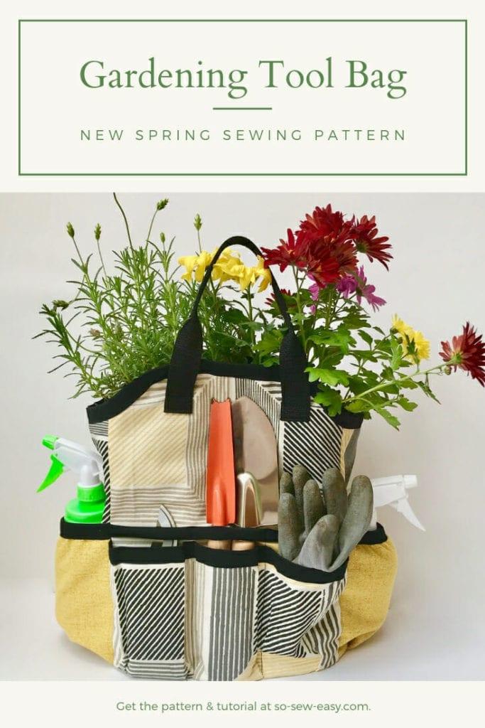 Gardening Tool Bag free pattern
