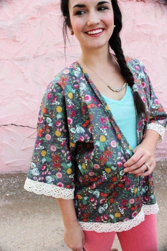 Kimono Jacket FREE Sewing Pattern