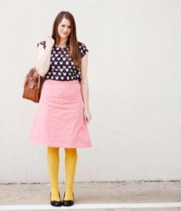 Simple Skirt FREE Sewing Pattern