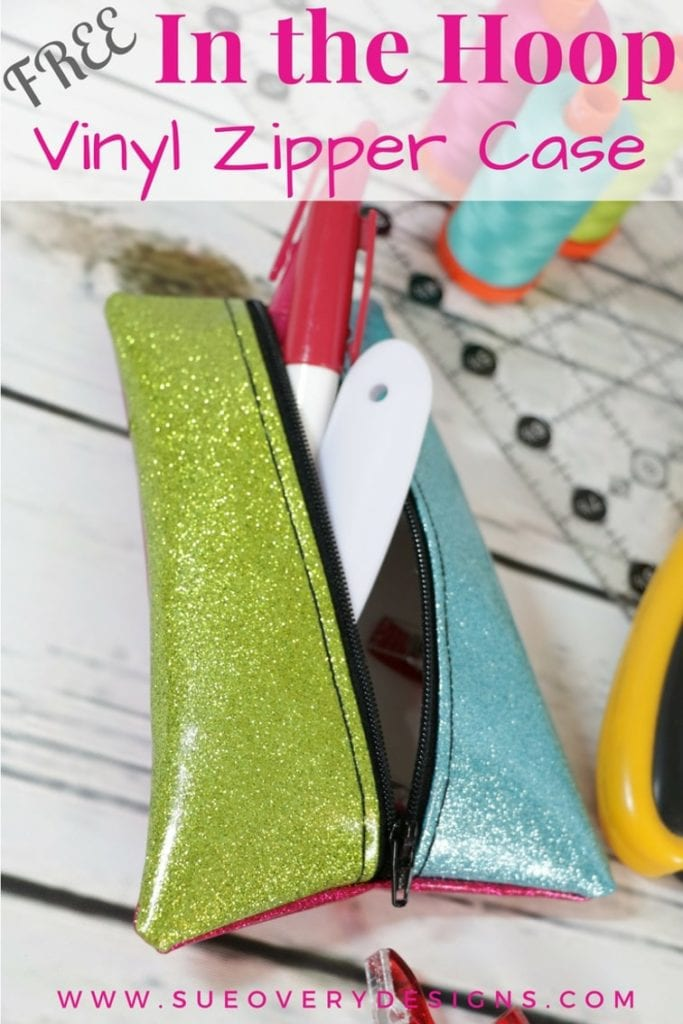 Vinyl Zipper Case Free Pattern