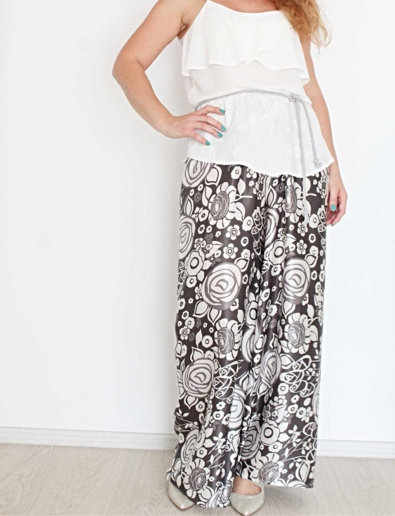 Wide Leg Pants Pattern FREE Pattern
