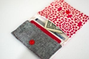 Wallet FREE Sewing Pattern