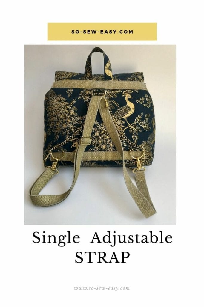 How To Make A Single Adjustable Strap