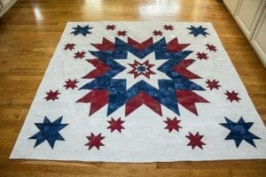 Land of the free quilt
