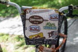 Little Bike MessengerBag FREE Sewing Pattern