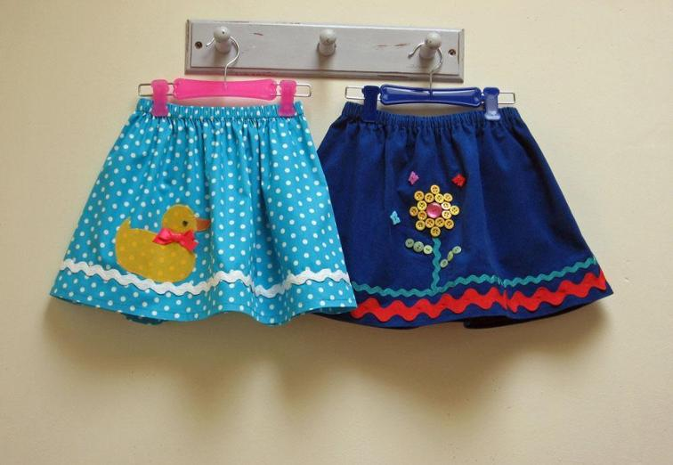 Little Duckie Skirt FREE Pattern