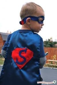 Superhero cape free sewing pattern