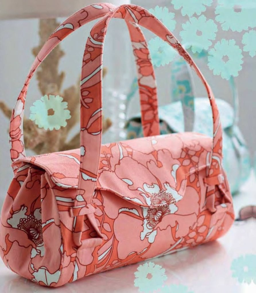 Blossom Handbag FREE Sewing Pattern