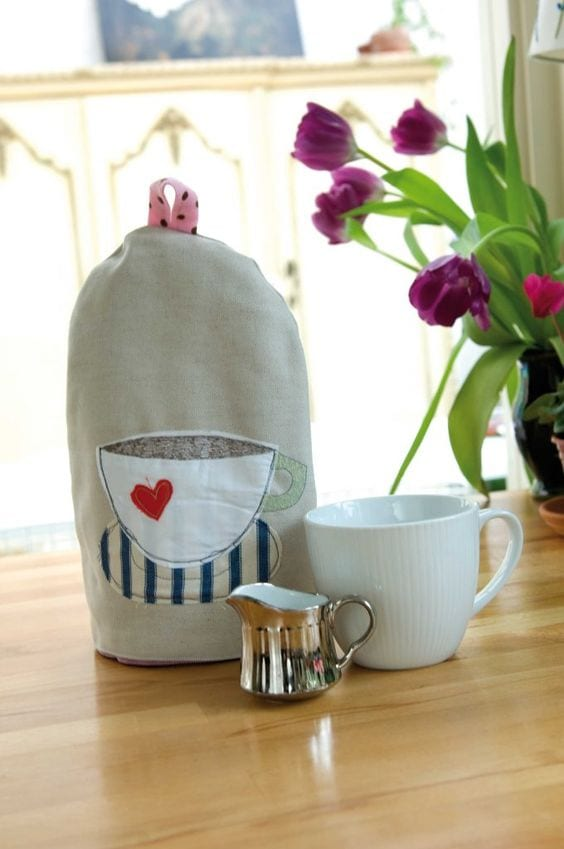 Coffee Cosy FREE Sewing Pattern