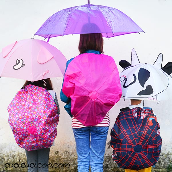 Backpack Rain Cover FREE Tutorial