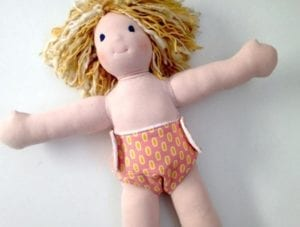 doll diaper free sewing pattern