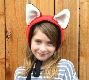 fox ears free sewing pattern