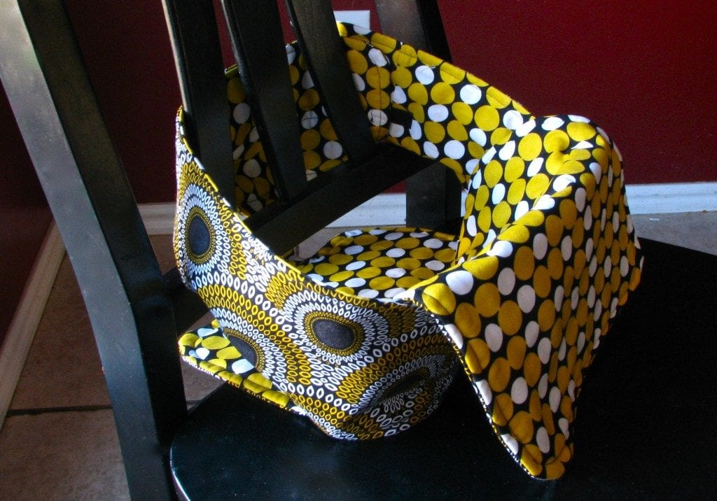 Travel High Chair FREE Sewing Tutorial