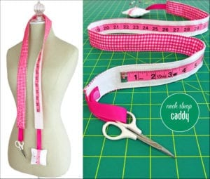 Measuring Tape Neck Caddy
