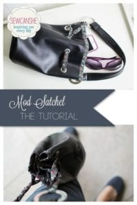 Mod Satchel FREE Sewing Tutorial