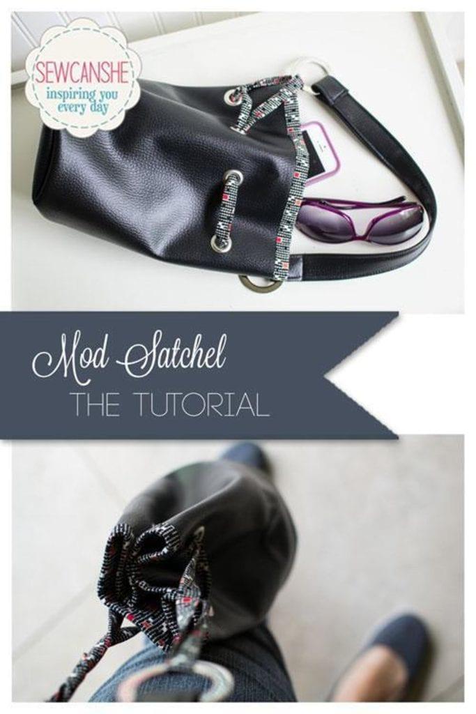 Mod Satchel FREE Sewing Tutorial