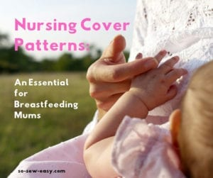 nursing cover patterns