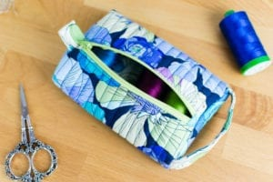 Pillbox Pouch FREE Sewing Tutorial