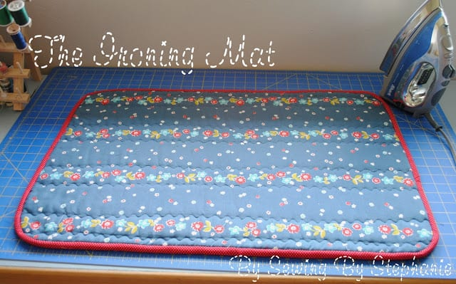 Ironing Mat FREE Sewing Tutorial