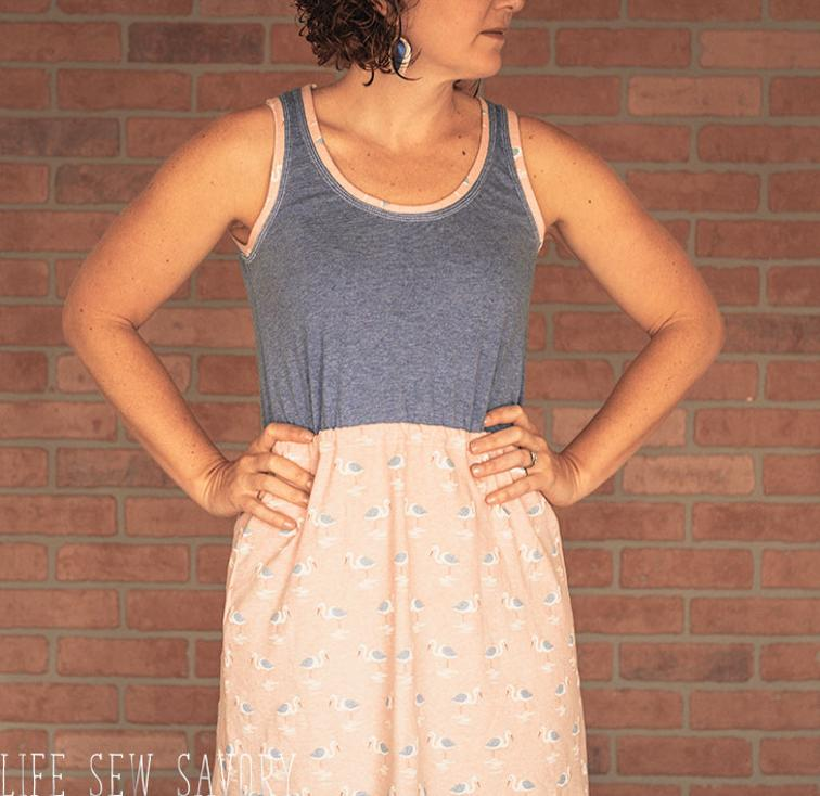 Tank Dress Free Pattern