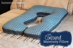 Maternity Pillow FREE Sewing Pattern