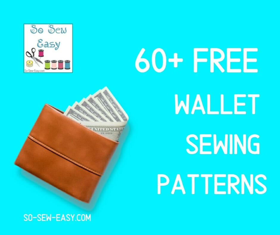 FREE Wallet Sewing Patterns