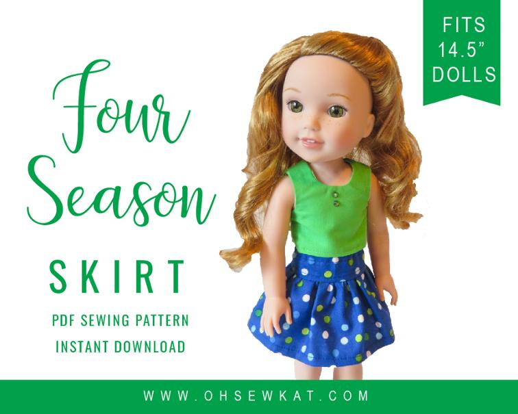 Four Season Skirt FREE Sewing Tutorial