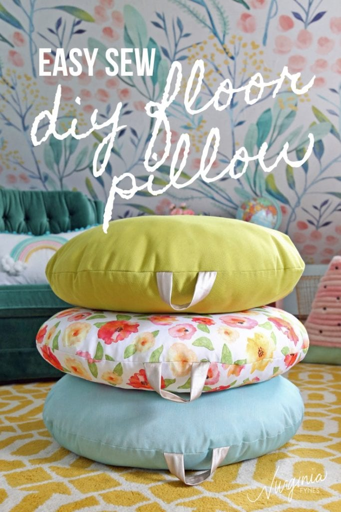 DIY Floor Pillow