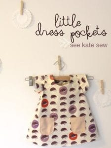 Little Dress Pocket FREE Sewing Pattern