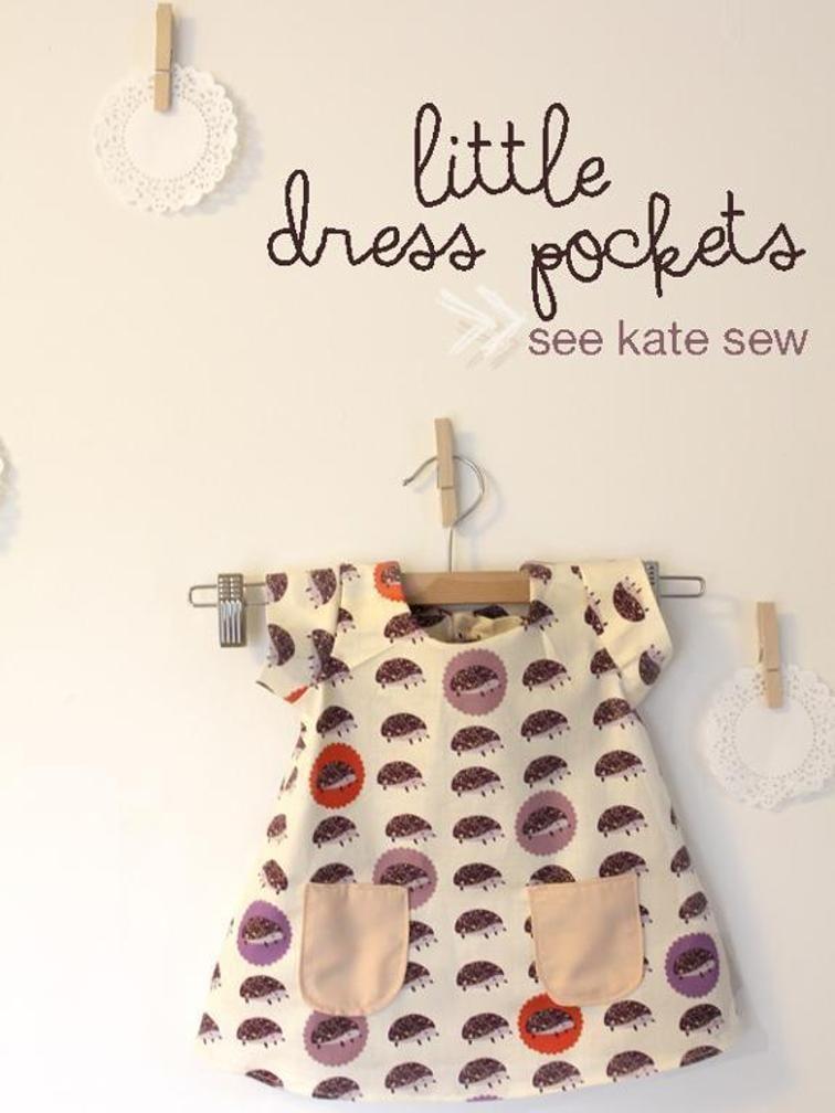 Little Dress Pocket FREE Sewing Pattern