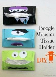 Boogie Monster Tissue Holder